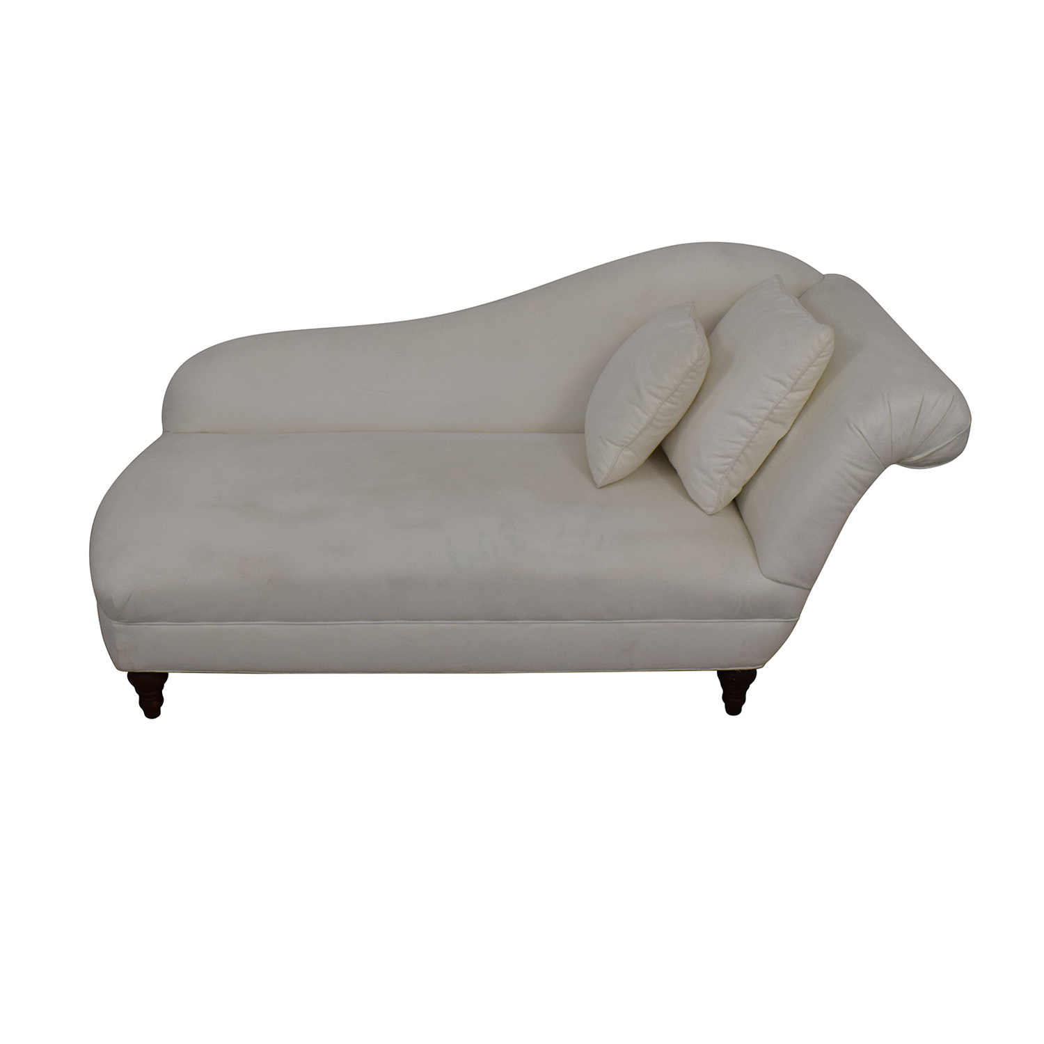 Fairfield Chair Company Fairfield Chair Company Living Room White Chaise Sofas