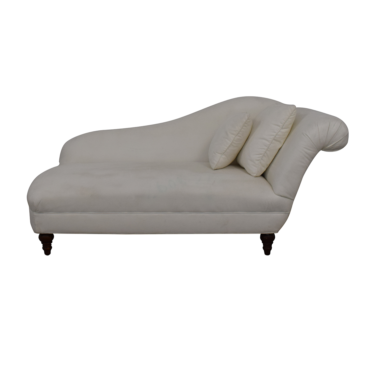 buy Fairfield Chair Company Living Room White Chaise Fairfield Chair Company