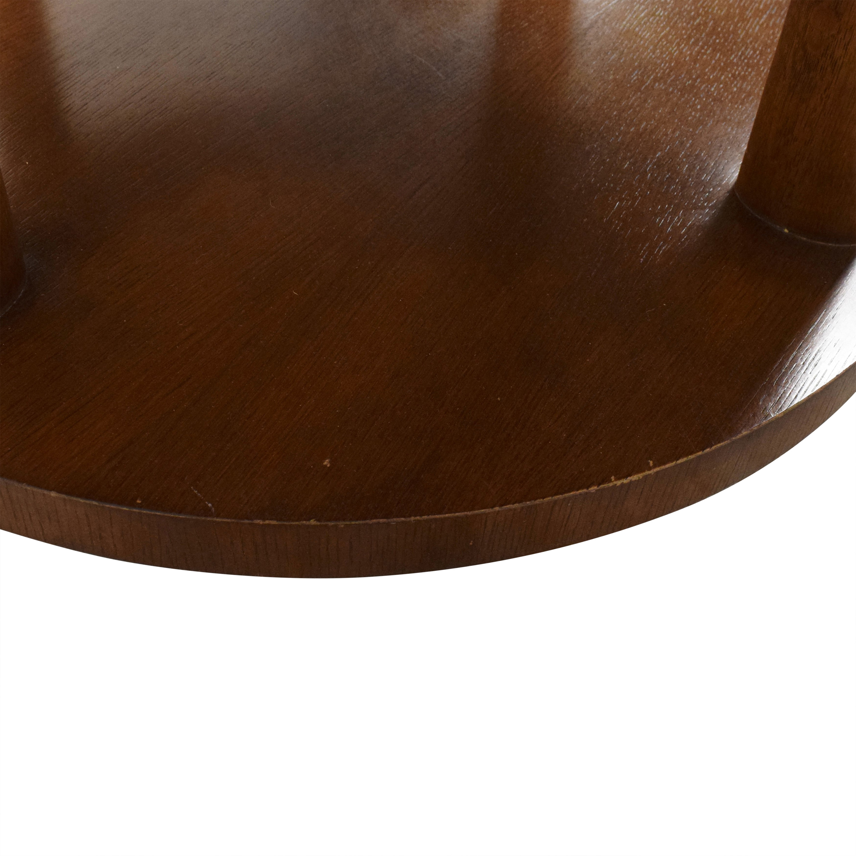 Baker Furniture Baker Furniture Barbara Barry Round Tiered Occasional Table second hand