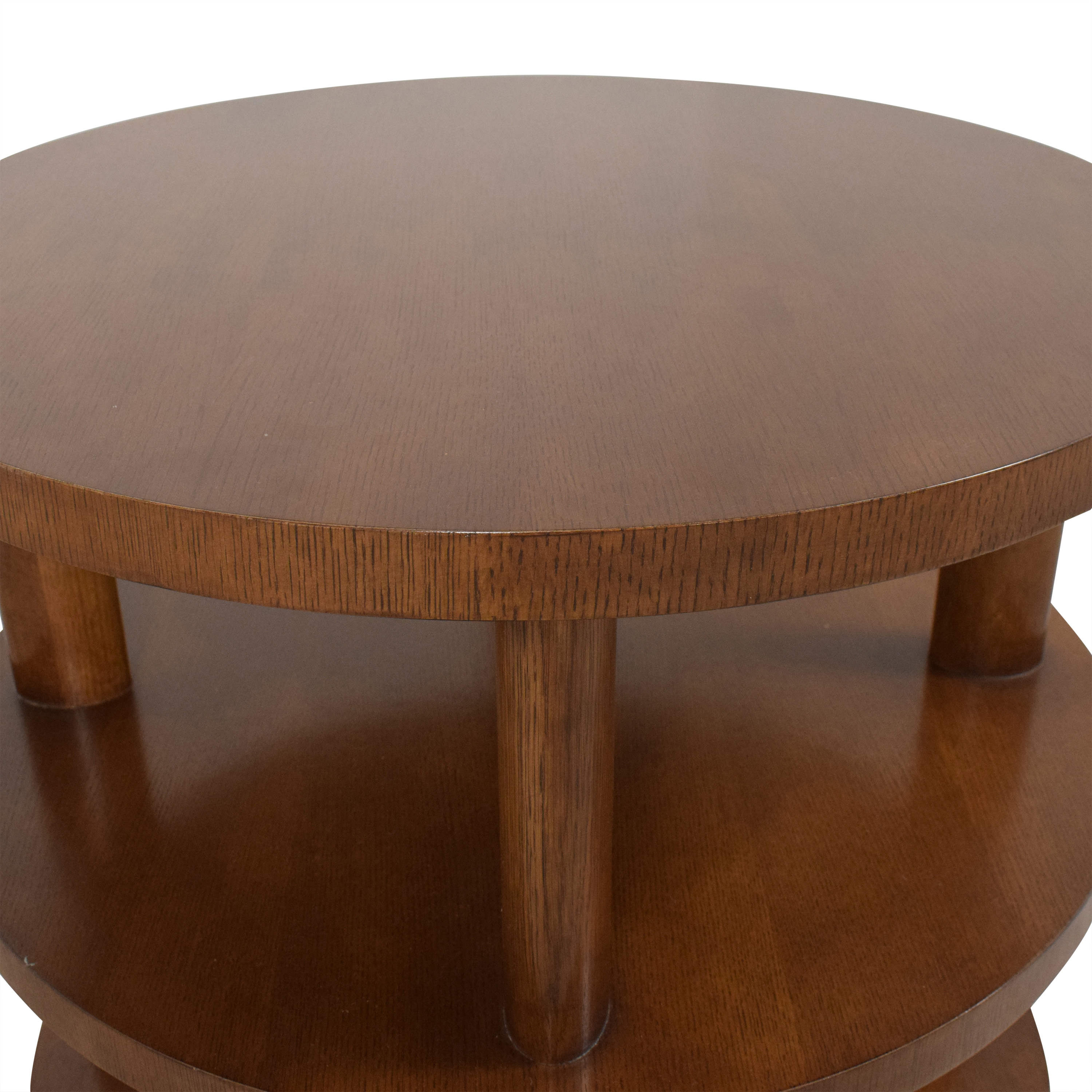 Baker Furniture Barbara Barry Round Tiered Occasional Table sale
