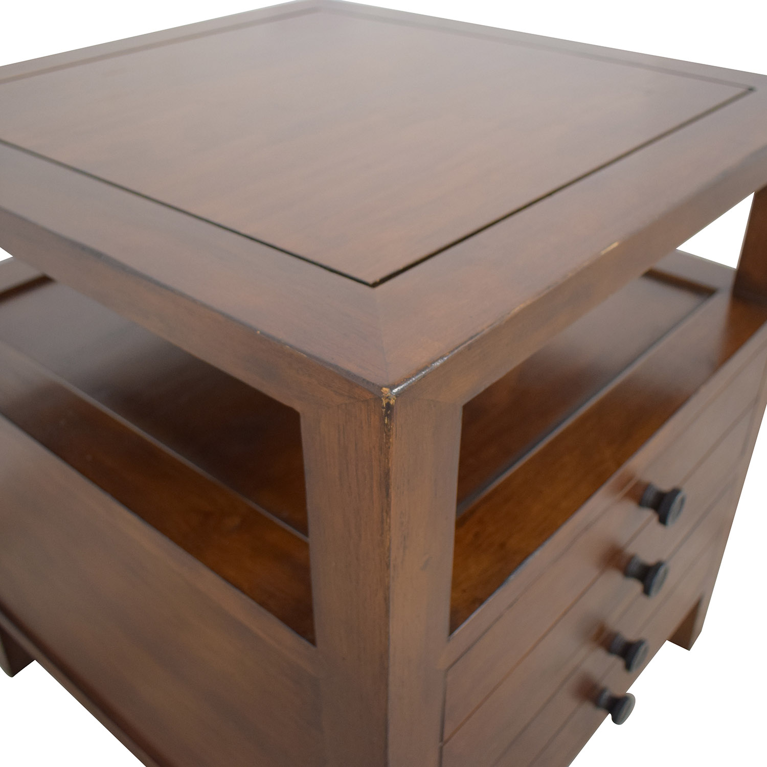 Crate & Barrel Side Table / End Tables