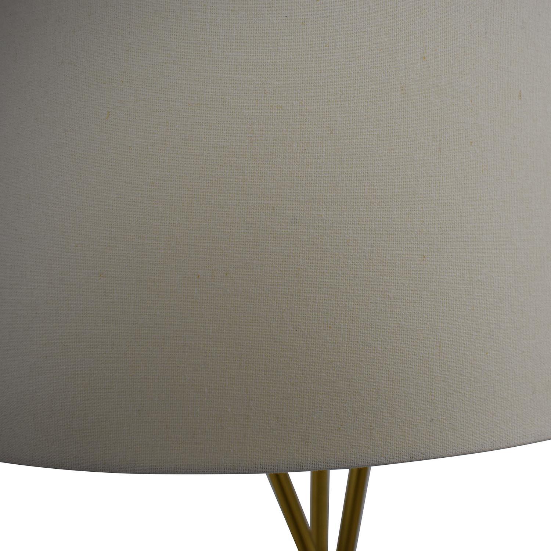 West Elm West Elm Mid Century Tripod Floor Lamp Gold
