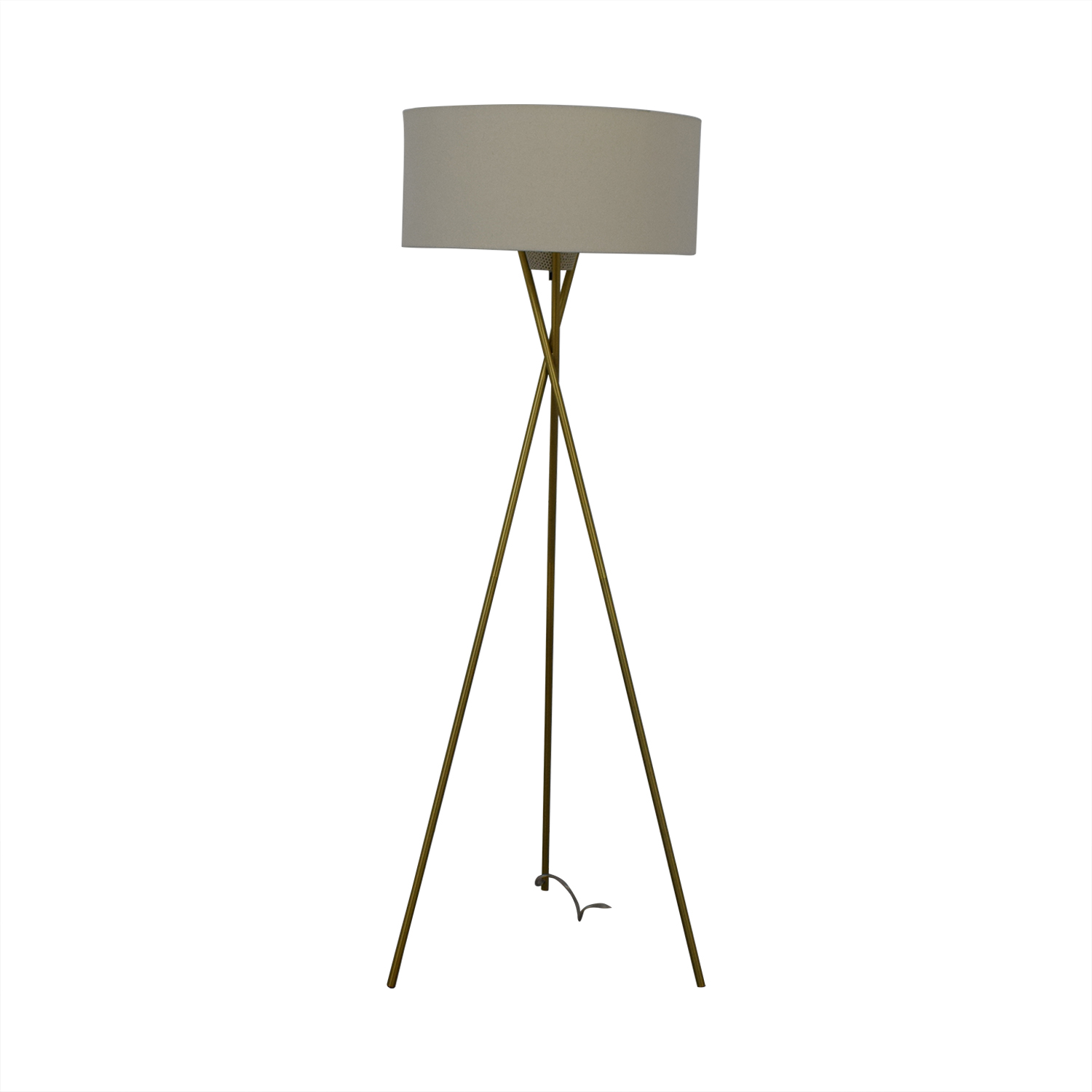 West Elm Mid Century Tripod Floor Lamp West Elm