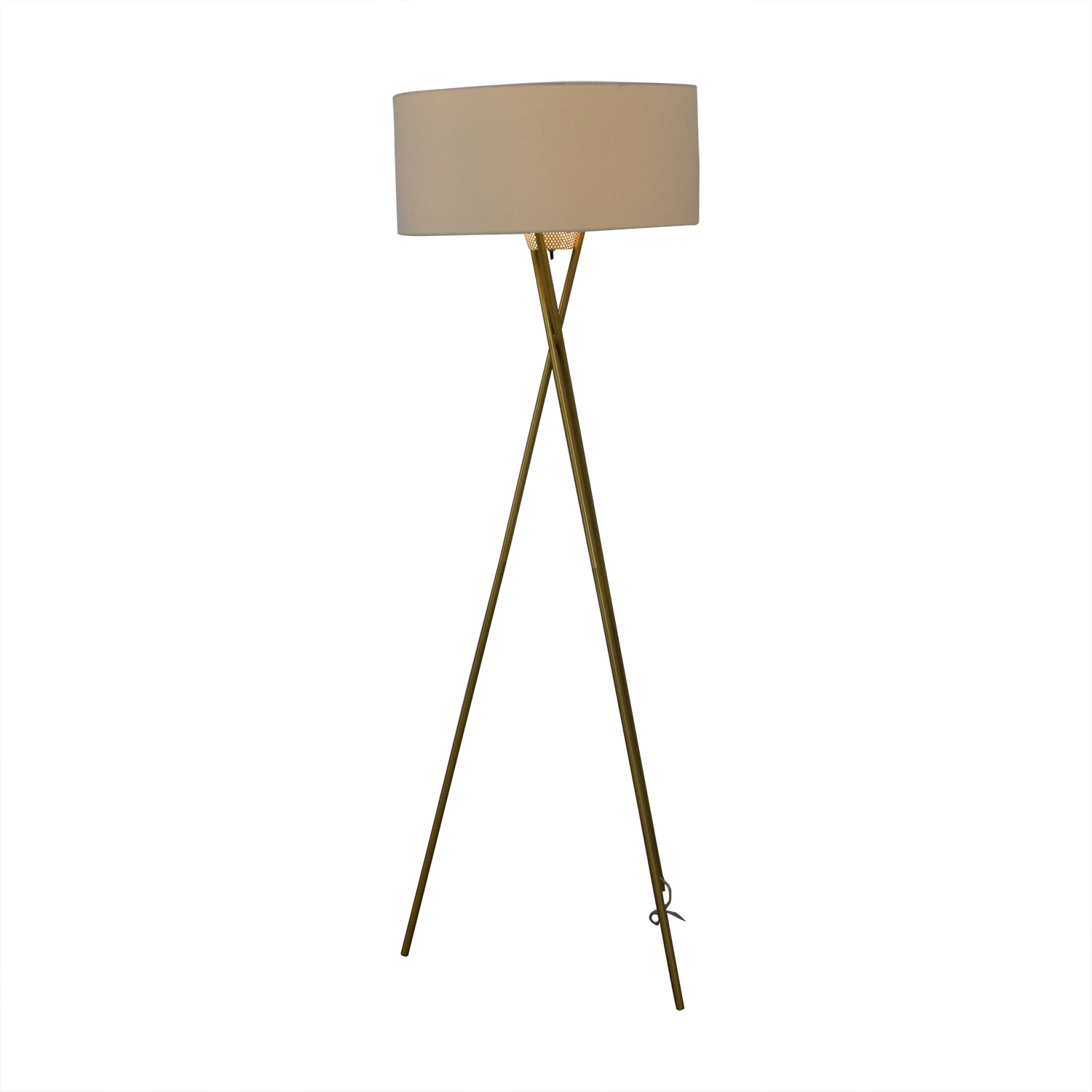 West Elm Mid Century Tripod Floor Lamp sale