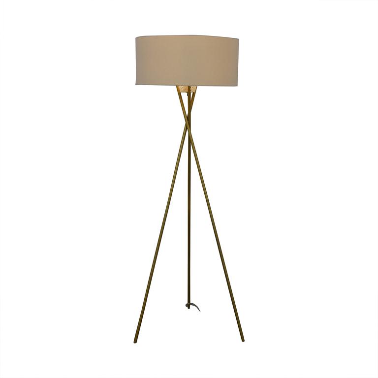 shop West Elm West Elm Mid Century Tripod Floor Lamp online