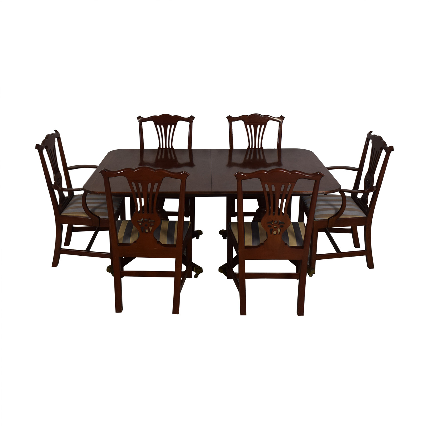 buy Baker Furniture Dining Room Table and Chairs Baker Furniture Tables