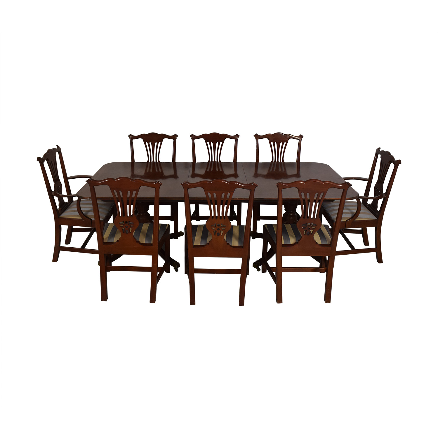 Baker Furniture Dining Room Table and Chairs sale