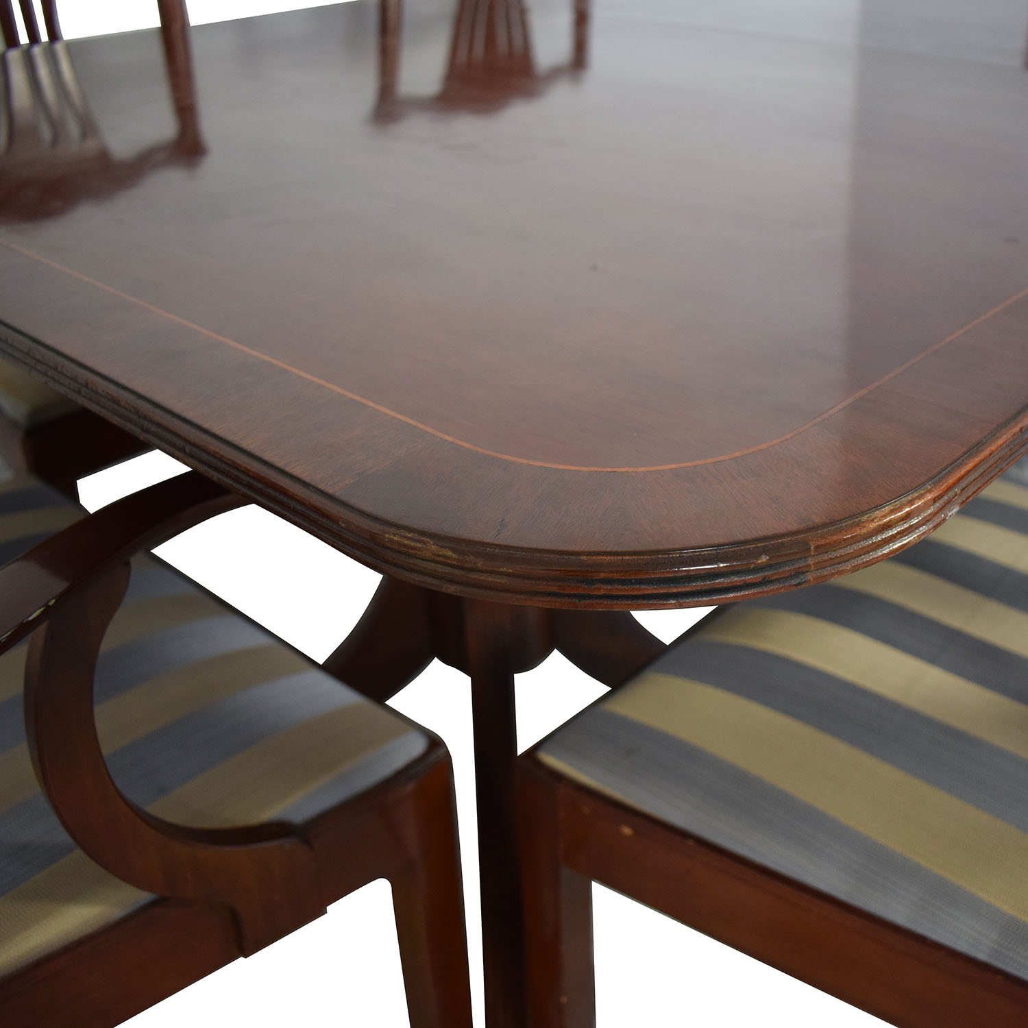 76 Off Baker Furniture Baker Furniture Dining Room Table And