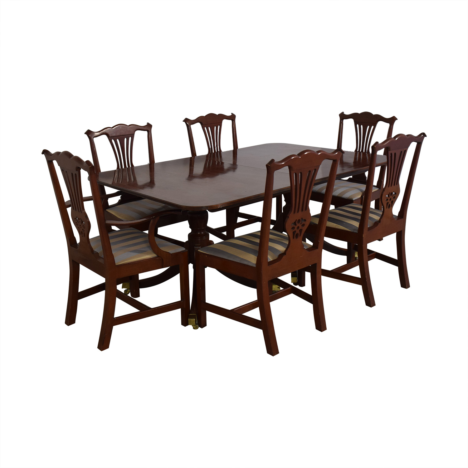Baker Furniture Dining Room Table and Chairs / Dining Sets