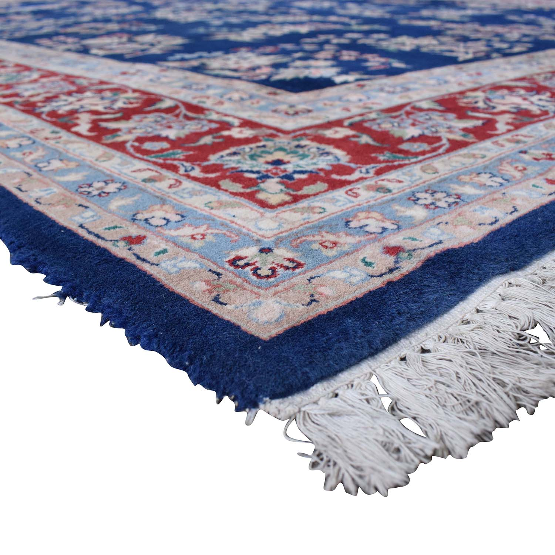 buy Royal Blue Decorative Oriental Rug