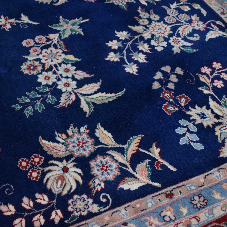 Royal Blue Decorative Oriental Rug coupon