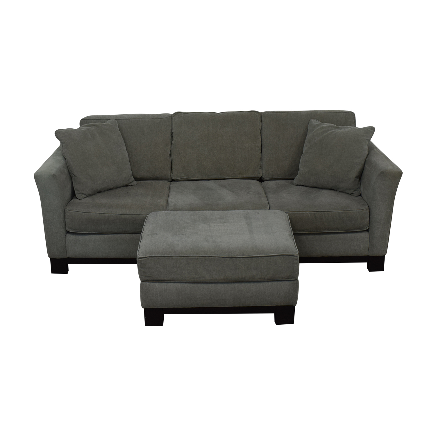 shop Macy's Macy's Modern Three Cushion Sofa And Ottoman online