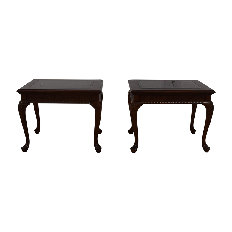 shop Macy's Mid-Century Glass End Tables Macy's