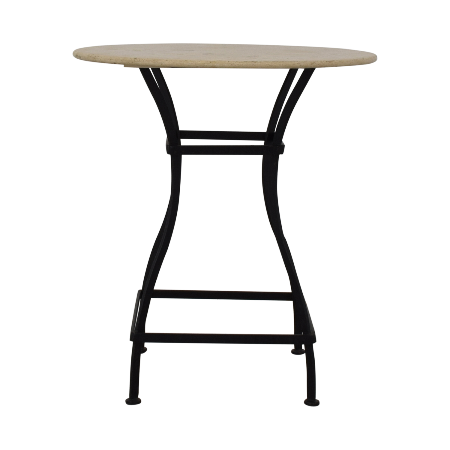 Crate & Barrel Crate & Barrel Bistro Table beige