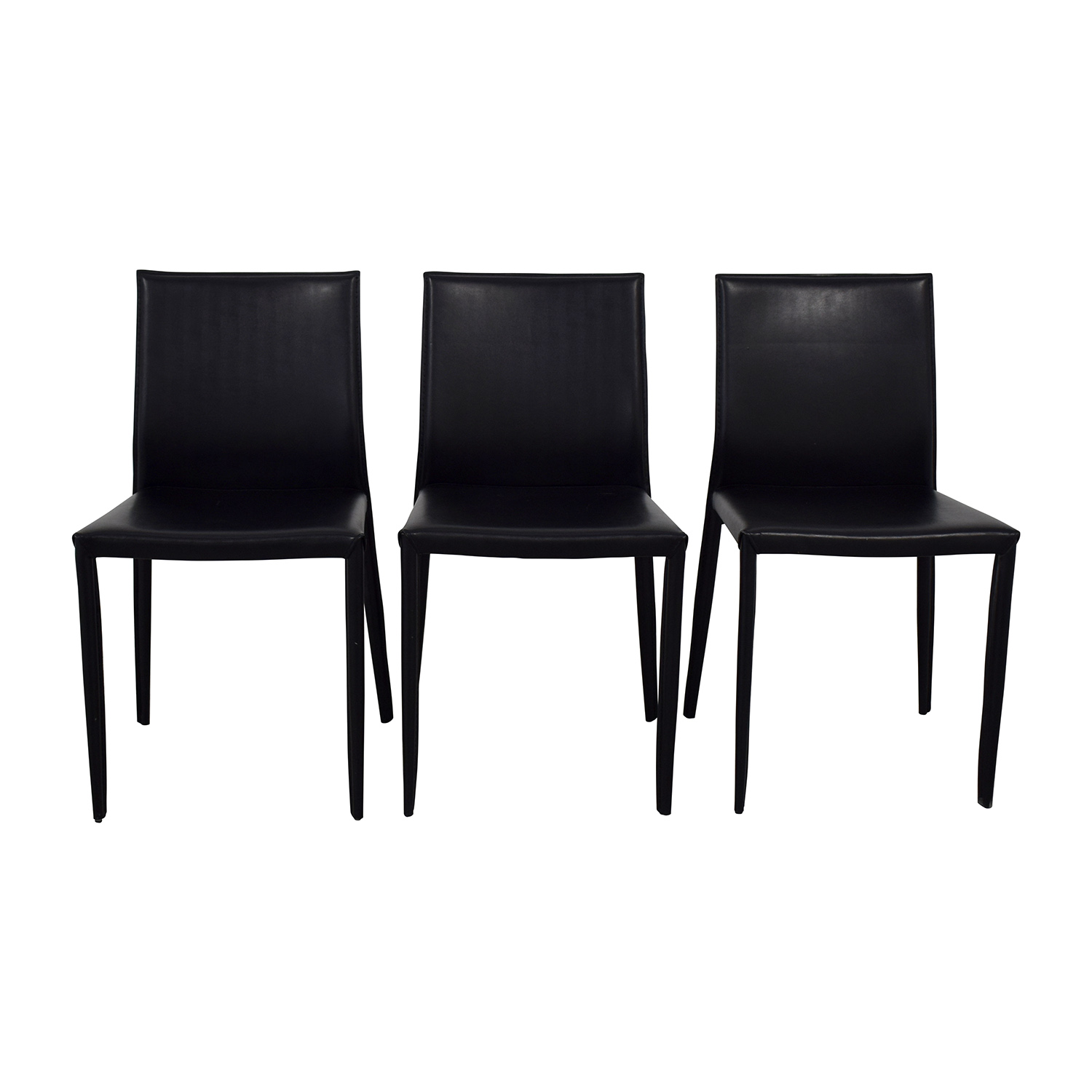 Room & Board Modern Black Dining Chairs / Dining Chairs