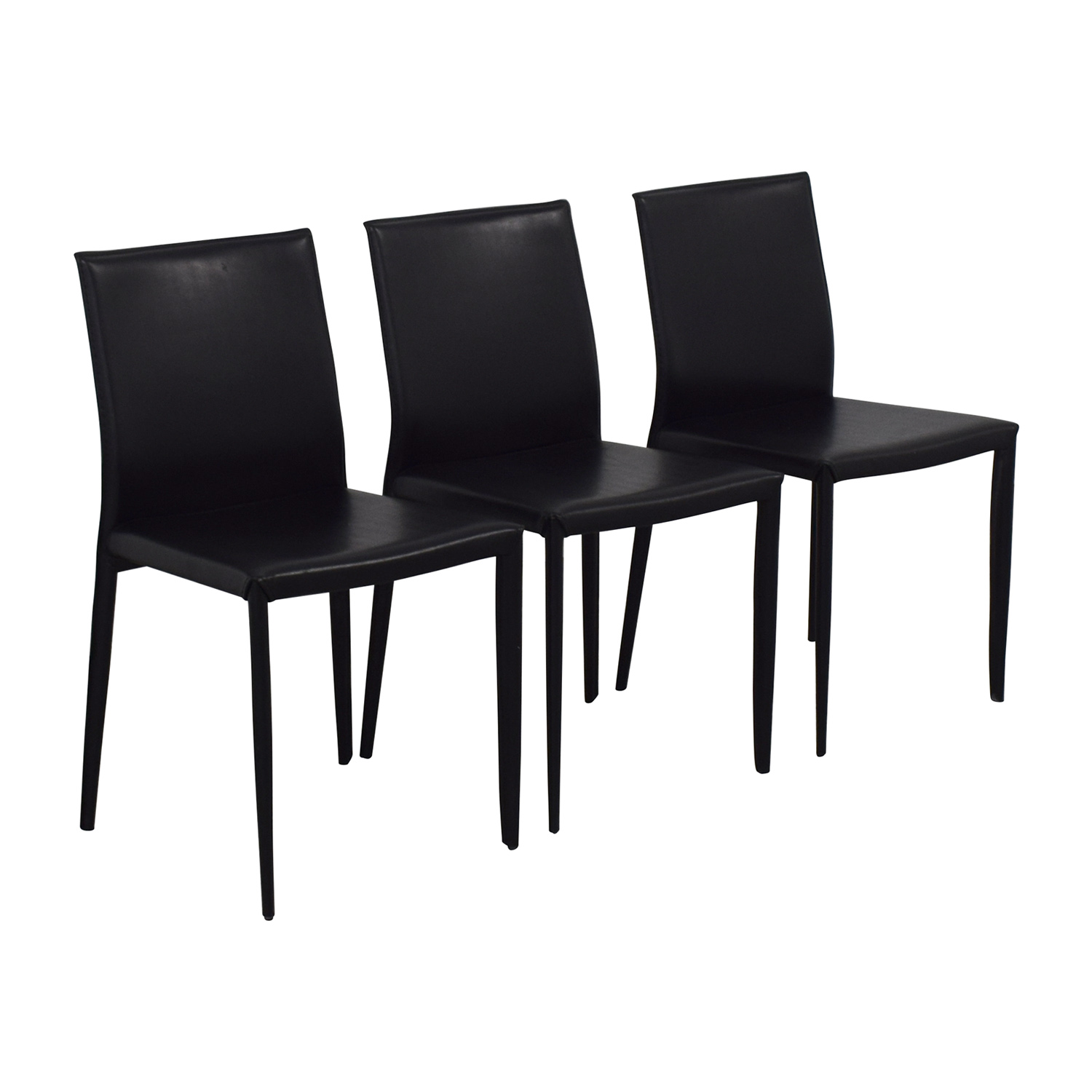 Room & Board Modern Black Dining Chairs / Chairs