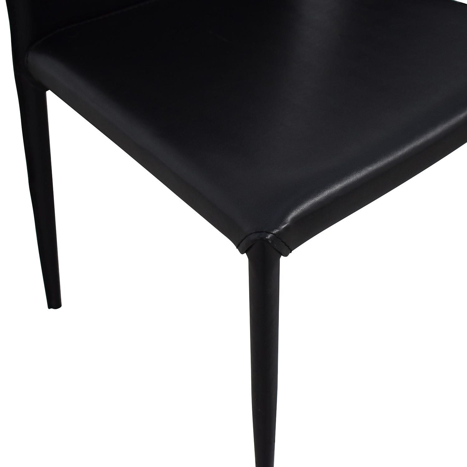 Room & Board Room & Board Modern Black Dining Chairs for sale
