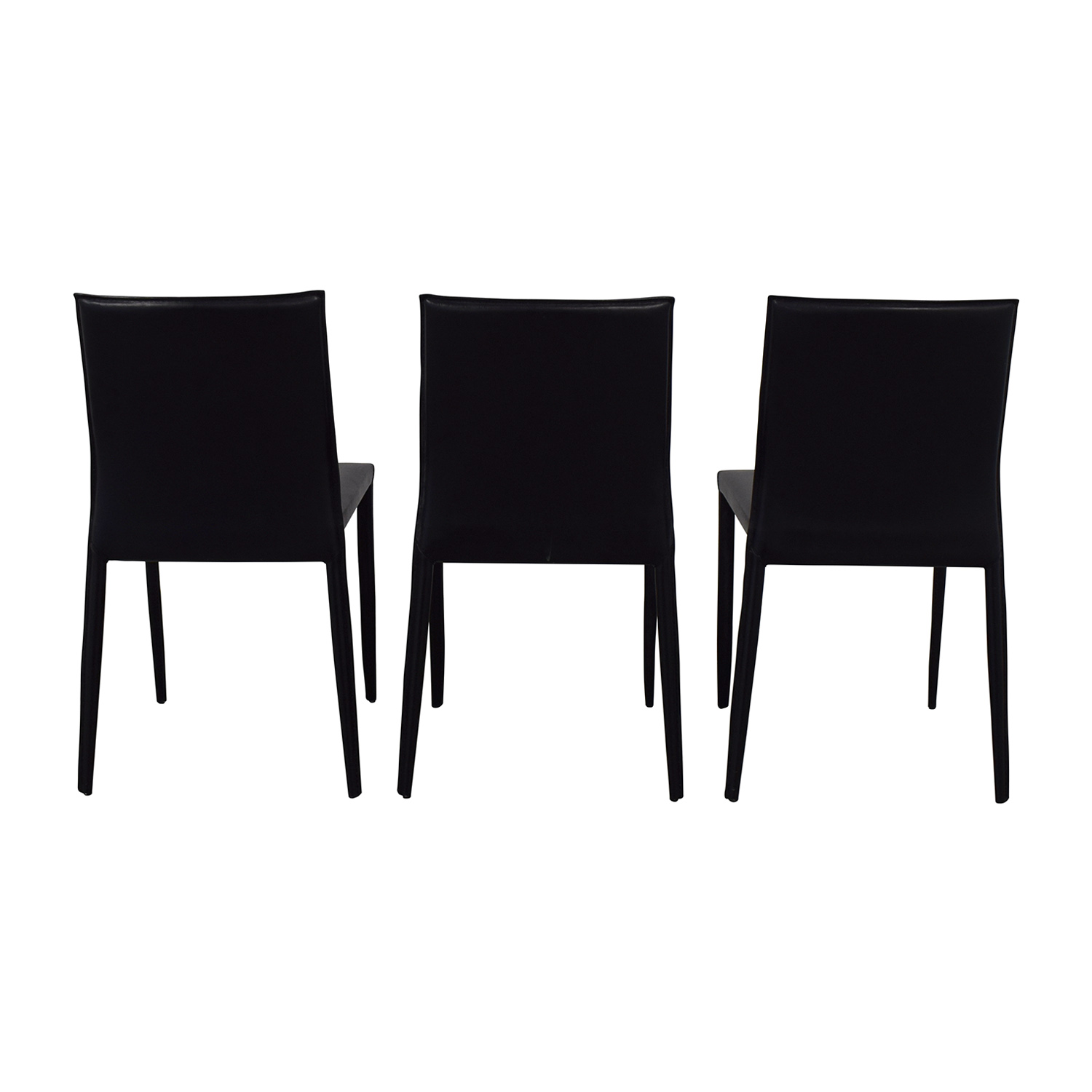 buy Room & Board Modern Black Dining Chairs Room & Board