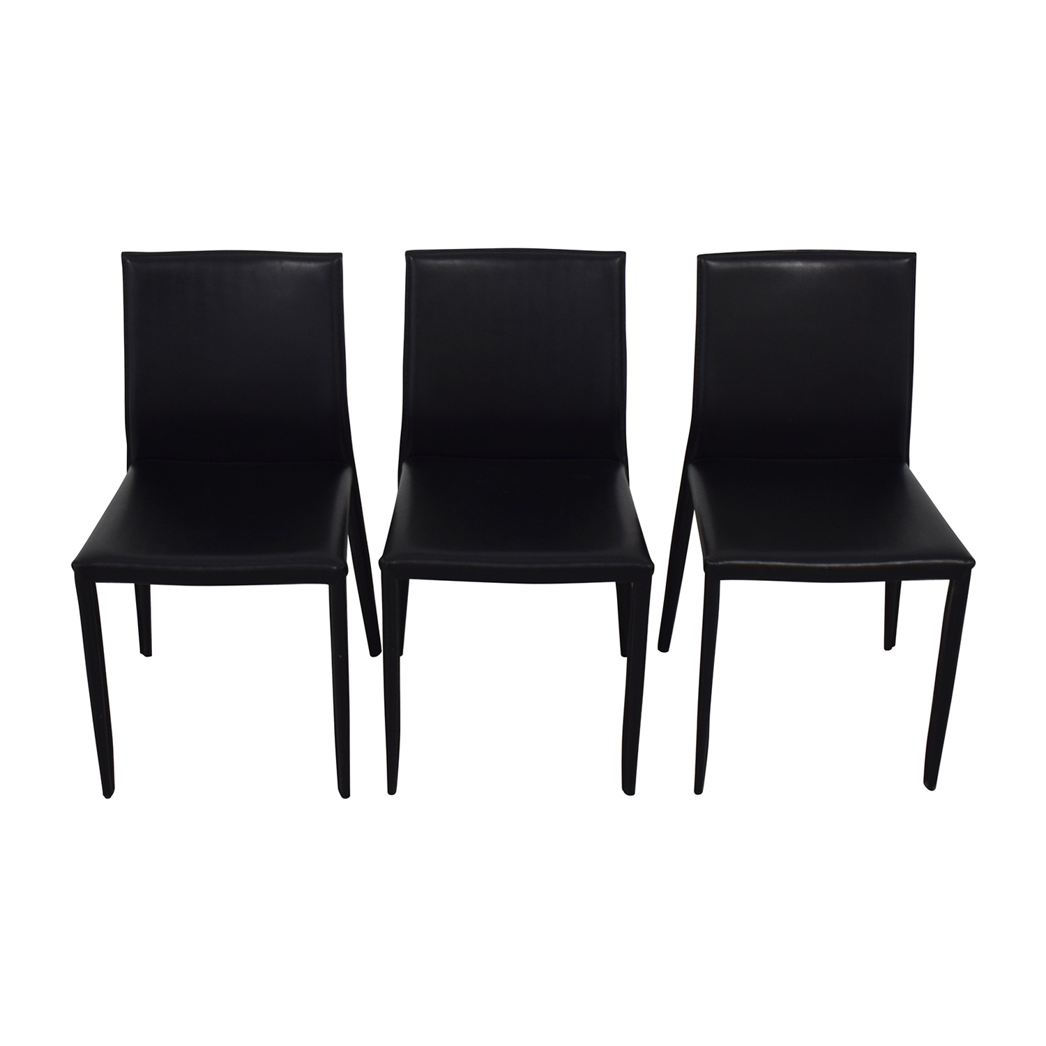 shop Room & Board Modern Black Dining Chairs Room & Board Dining Chairs