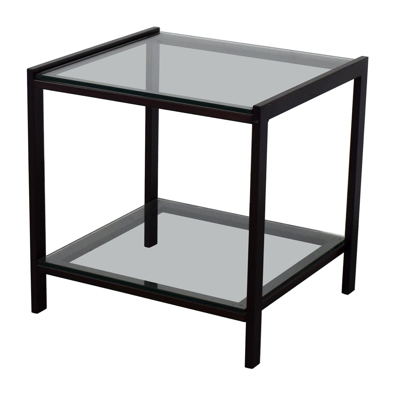 79% OFF - Crate & Barrel Crate & Barrel Side Table / Tables