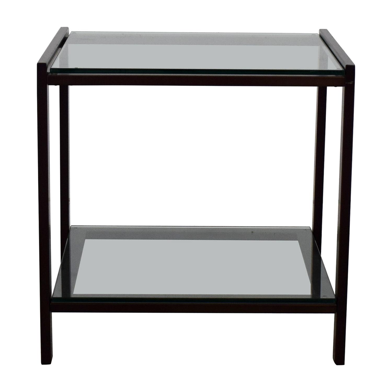 buy Crate & Barrel Side Table Crate & Barrel Tables