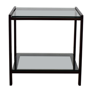 Crate & Barrel Crate & Barrel Side Table used
