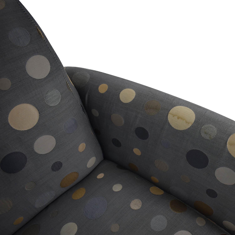 buy Nienkamper Polka Dot Accent Chair Nienkamper Chairs