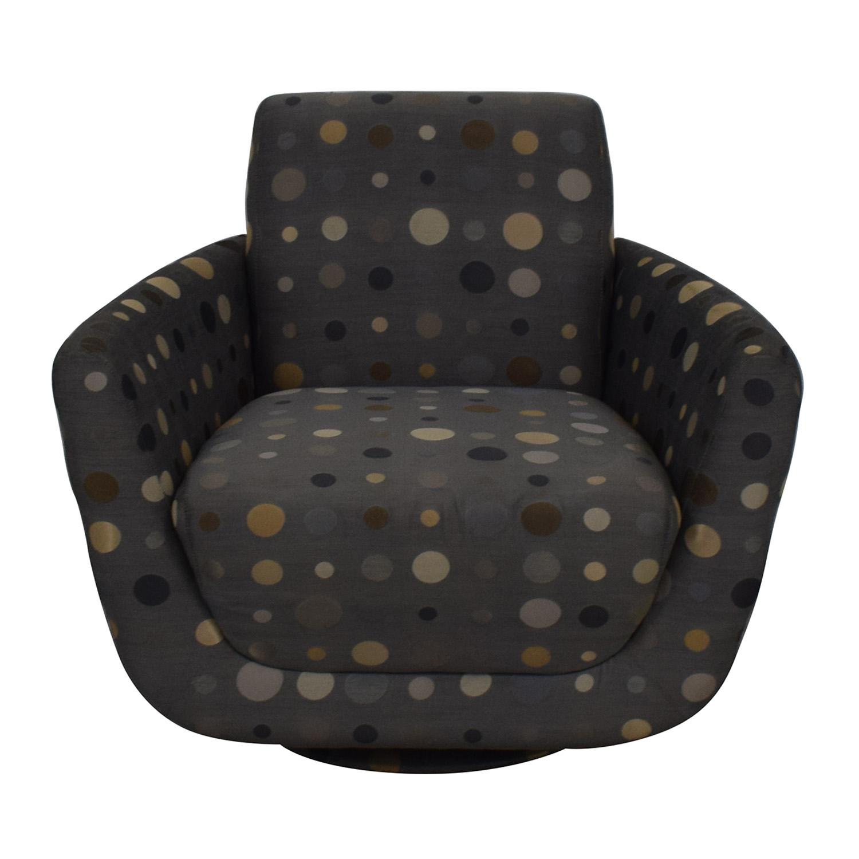 buy Nienkamper Polka Dot Accent Chair Nienkamper