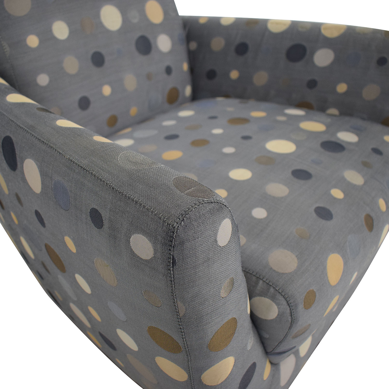 buy Nienkamper Polka Dot Accent Chair Nienkamper Accent Chairs