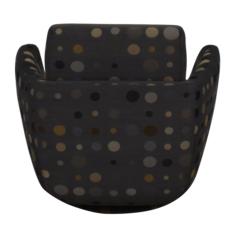Nienkamper Nienkamper Polka Dot Accent Chair dimensions