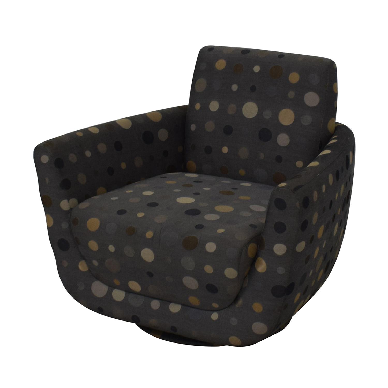 Nienkamper Nienkamper Polka Dot Accent Chair nj