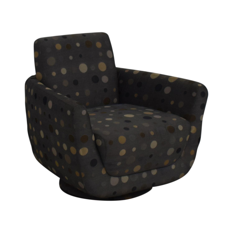 Nienkamper Polka Dot Accent Chair Nienkamper