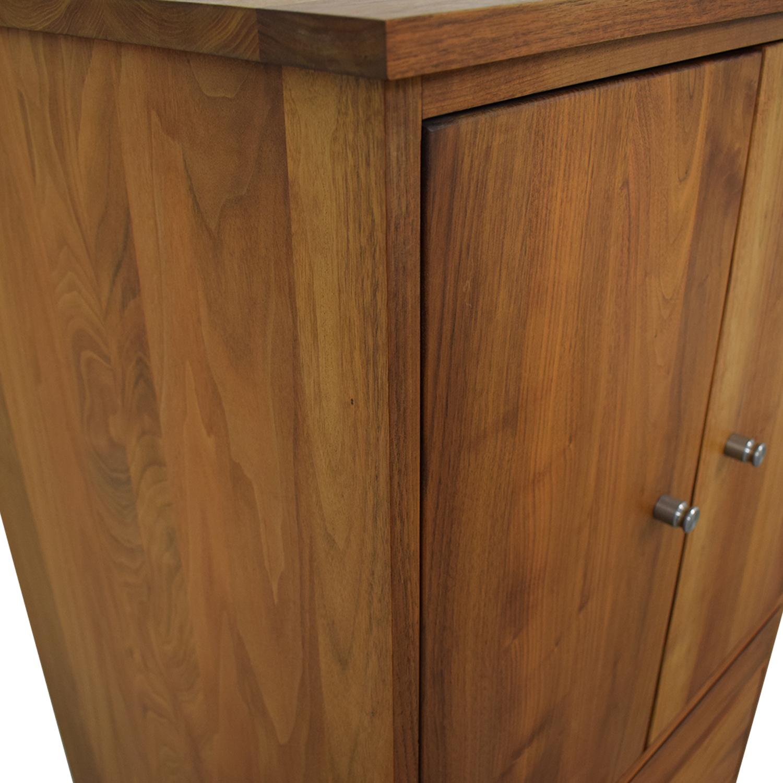 Room & Board Linear Two-Door Office Armoire Room & Board