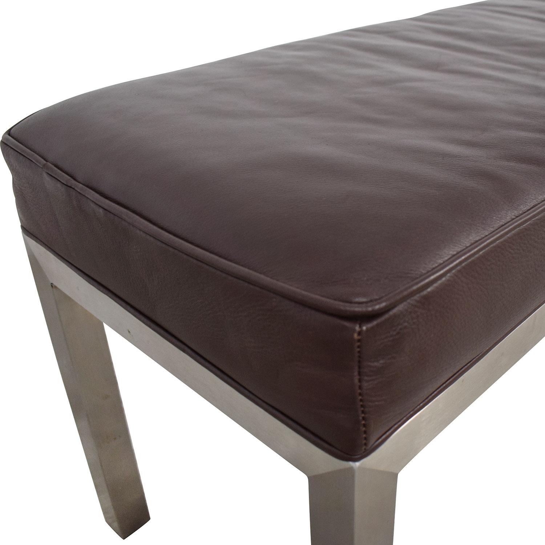 Room & Board Room & Board Long Industrial Bench on sale