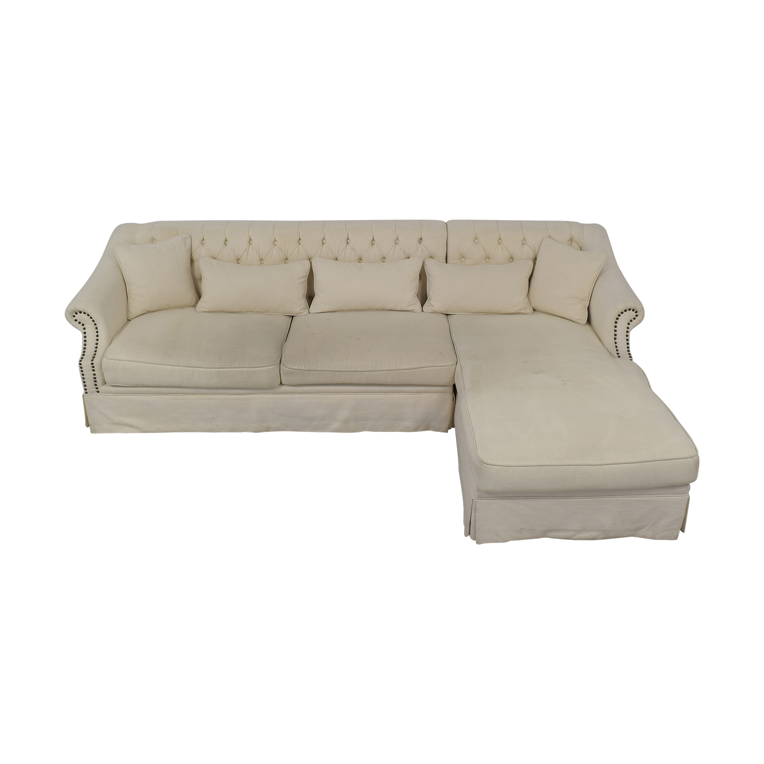 shop ABC Carpet & Home ABC Carpet & Home Chaise Sectional Sofa online