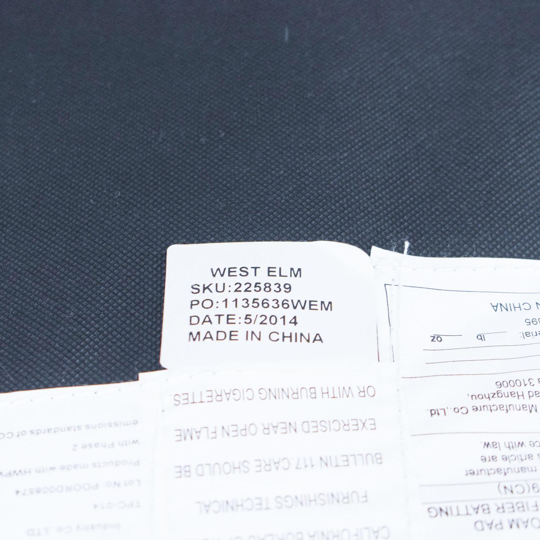 West Elm West Elm Elton Accent Chair dimensions
