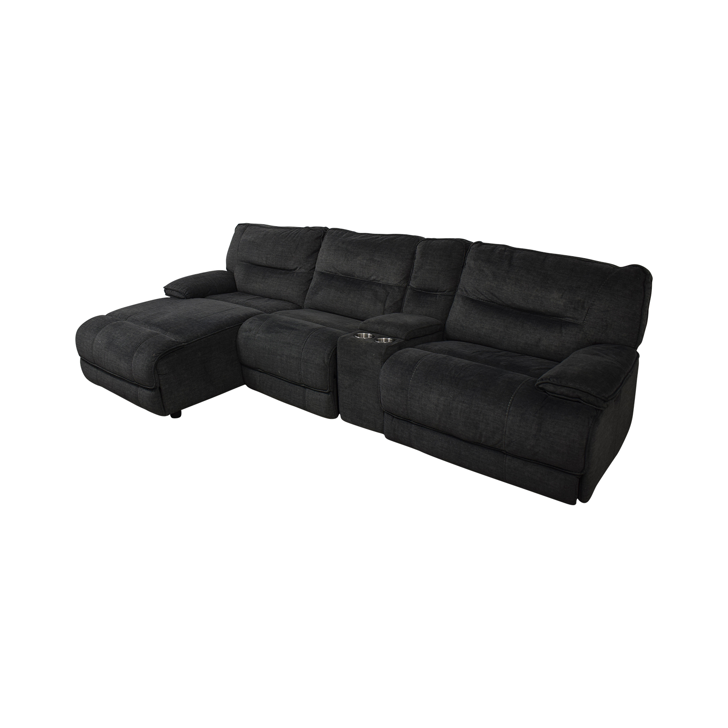 Bob's Discount Furniture Bob's Discount Furniture Reclining Sectional on sale