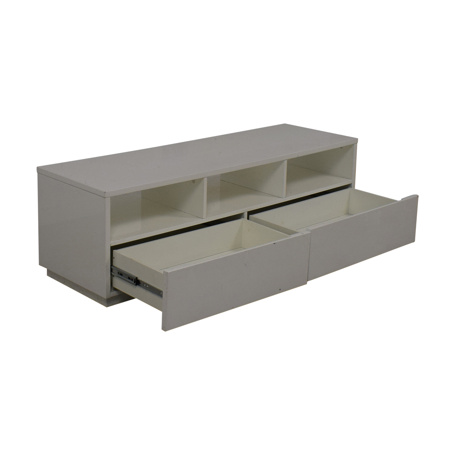 Crate & Barrel CB2 Chill White Media Console used