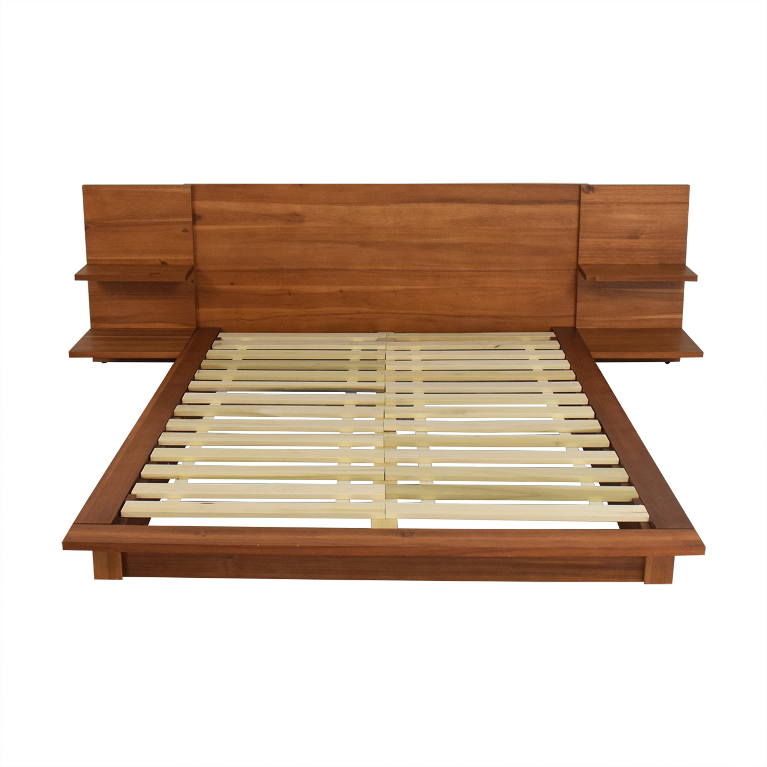 shop CB2 CB2 Andes Acacia Full Bed Frame online