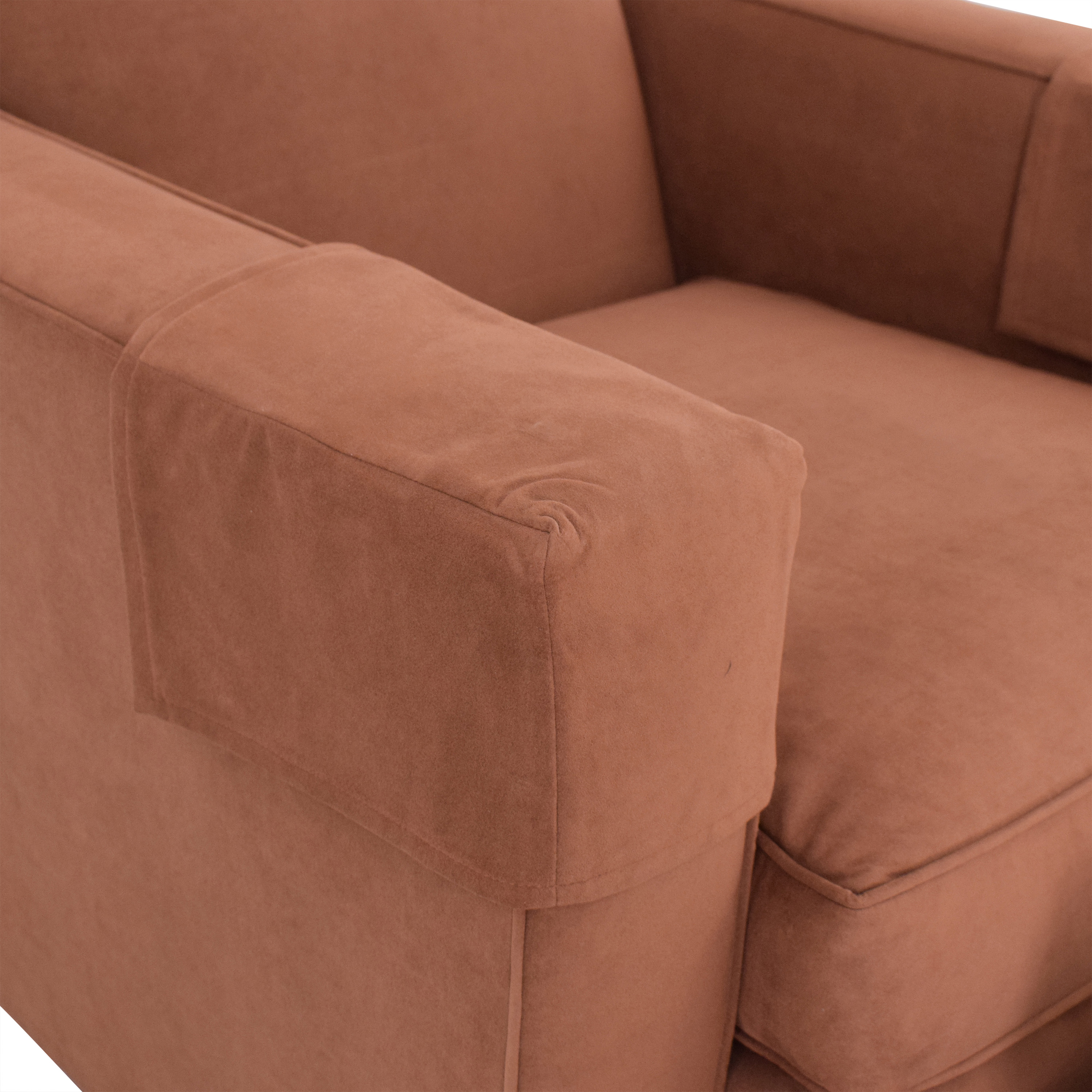 buy Hickory Chair Hickory Chair Ultra Suede Chair and Ottoman online