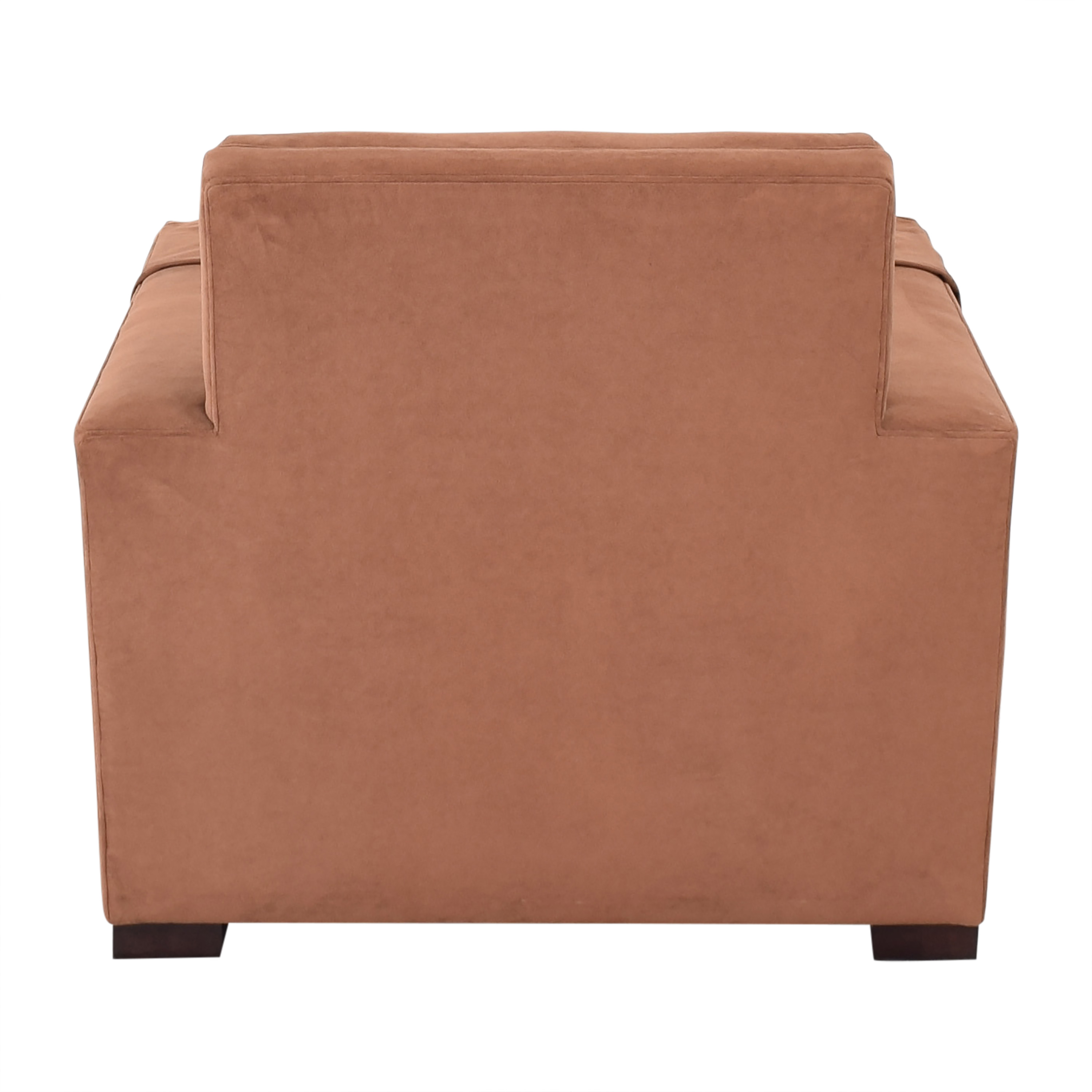 buy Hickory Chair Ultra Suede Chair and Ottoman Hickory Chair Chairs