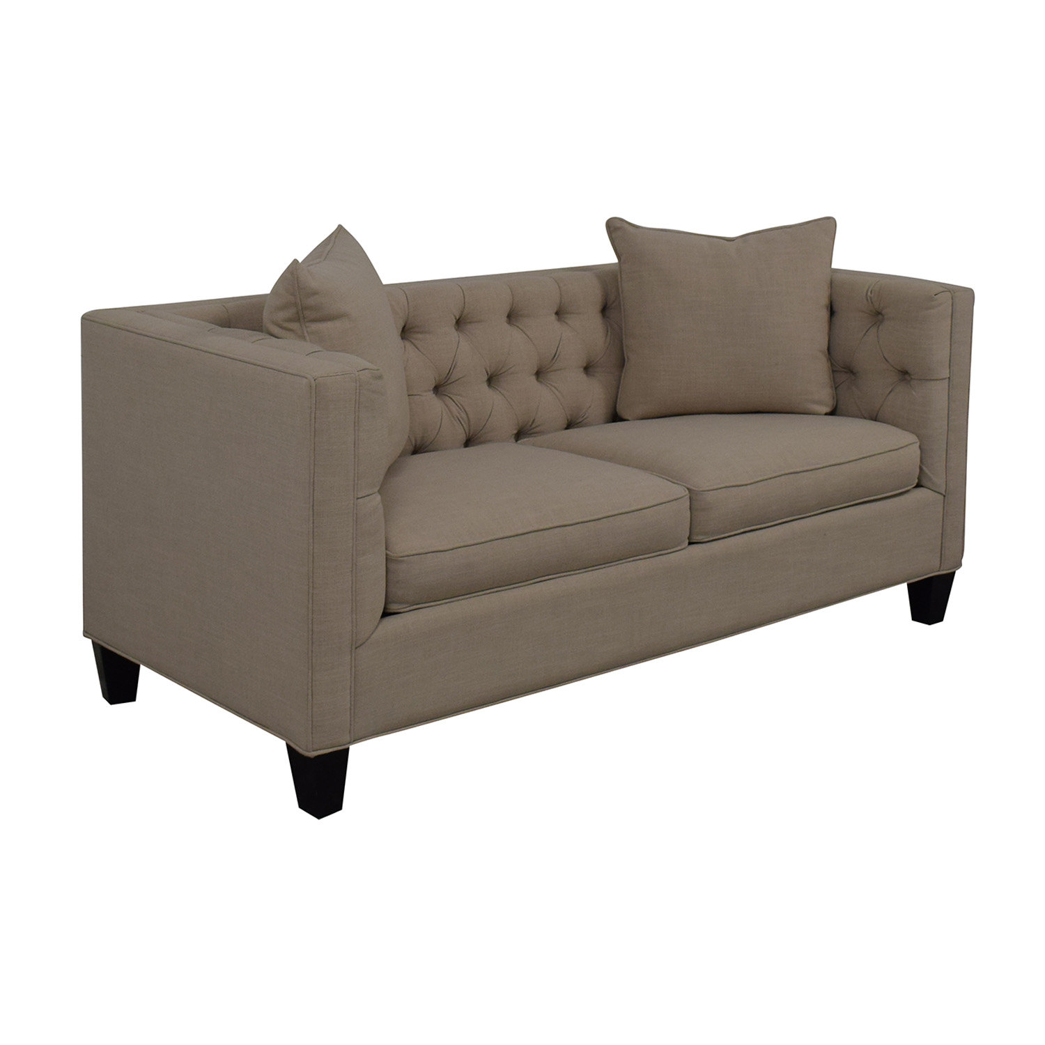 Home Decorators Collection Home Decorators Collection Lakewood Beige Linen Sofa Loveseats