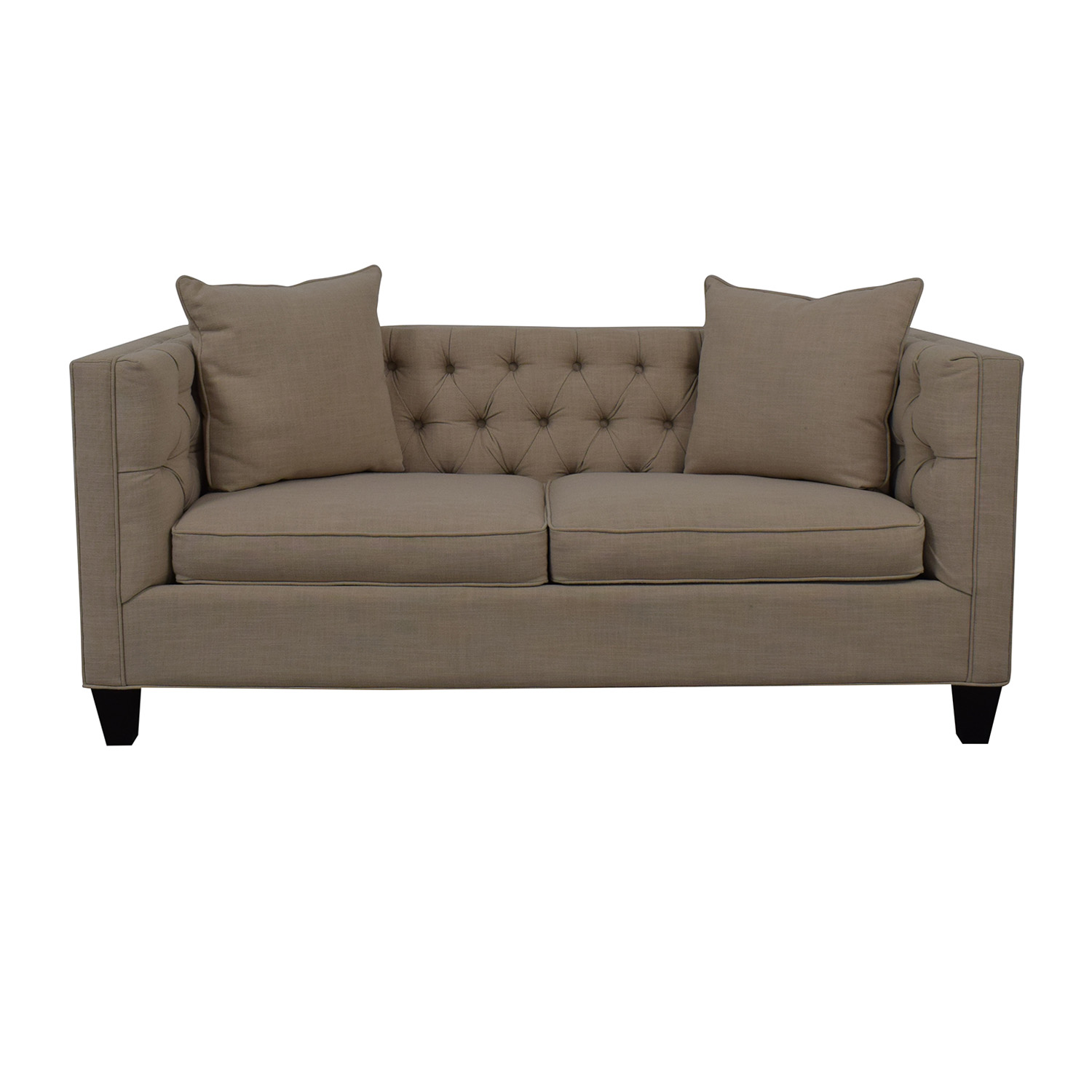 shop Home Decorators Collection Home Decorators Collection Lakewood Beige Linen Sofa online