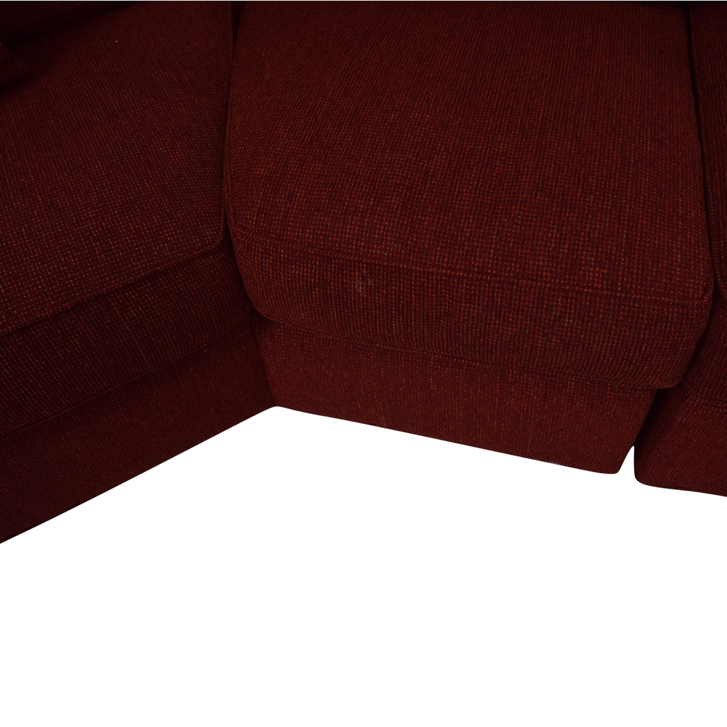 shop Pearson Red Wedge Sectional Sofa Pearson Sofas