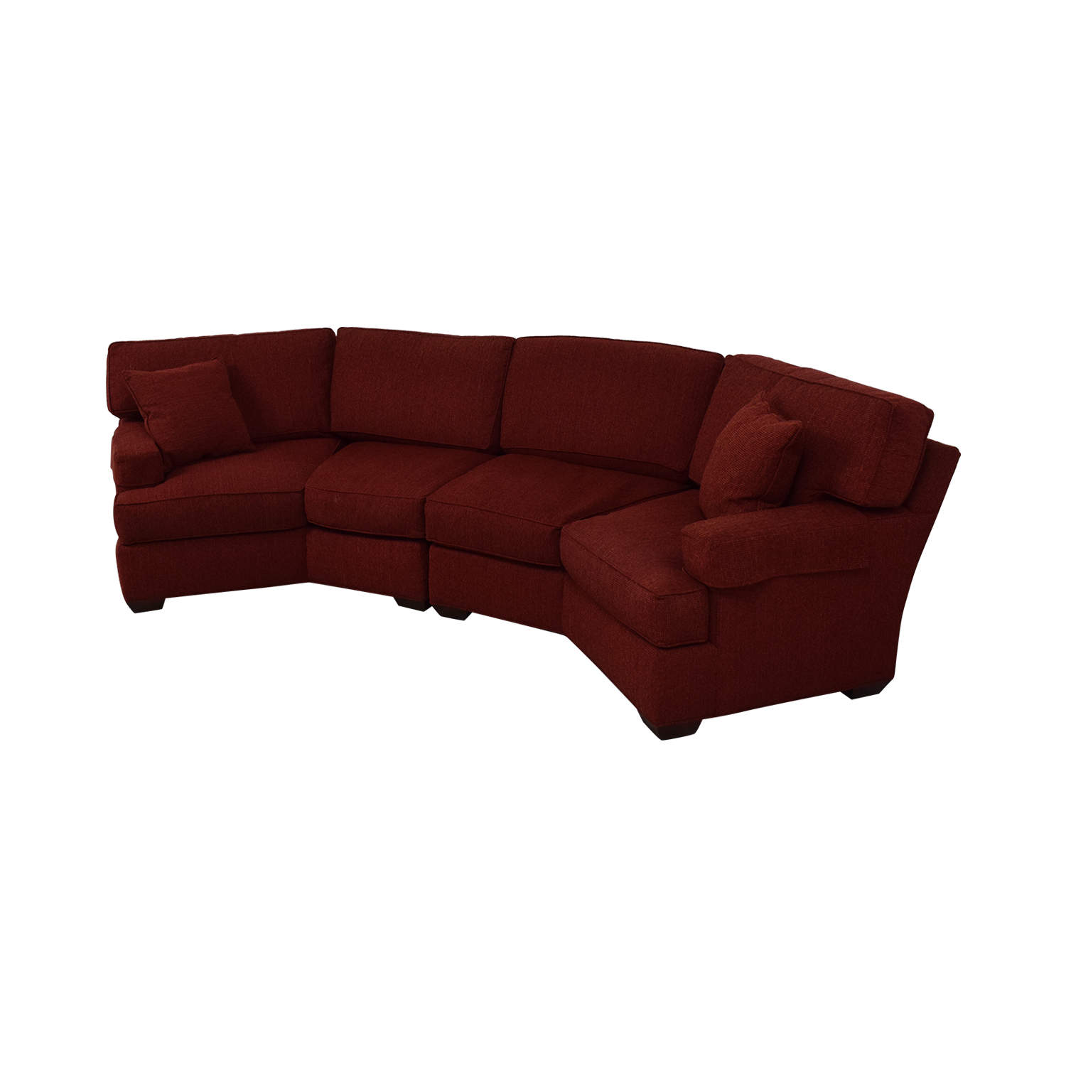 Pearson Pearson Red Wedge Sectional Sofa nj
