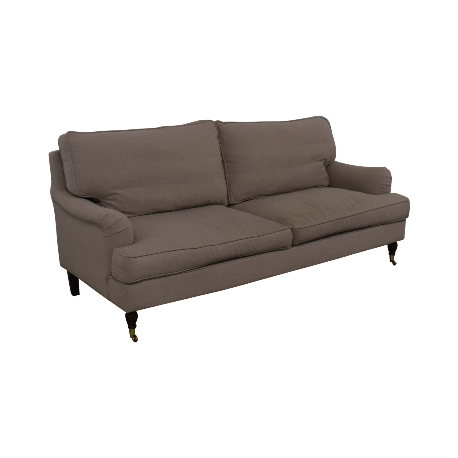 Safavieh Safavieh Roll Arm Sofa beige