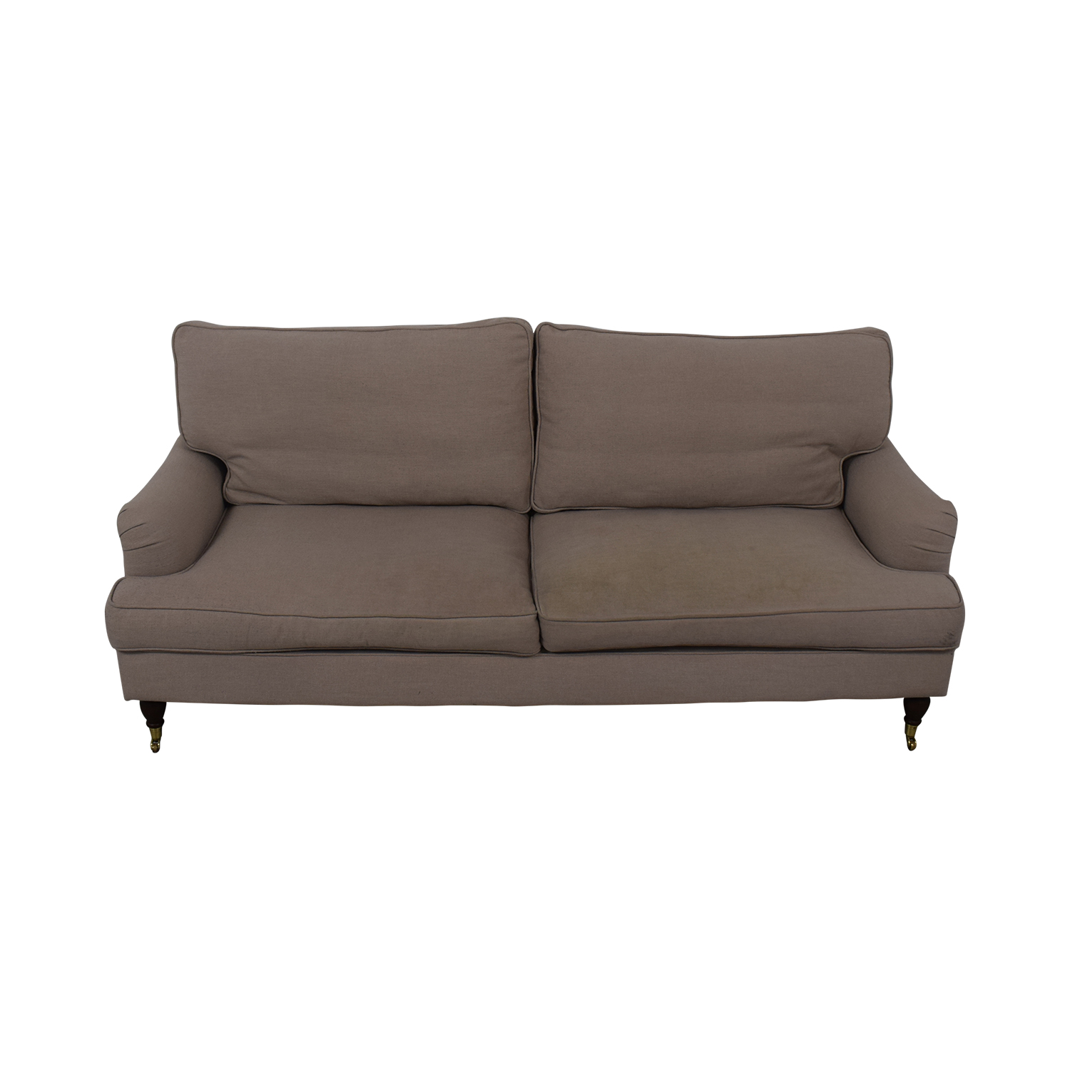 shop Safavieh Roll Arm Sofa Safavieh