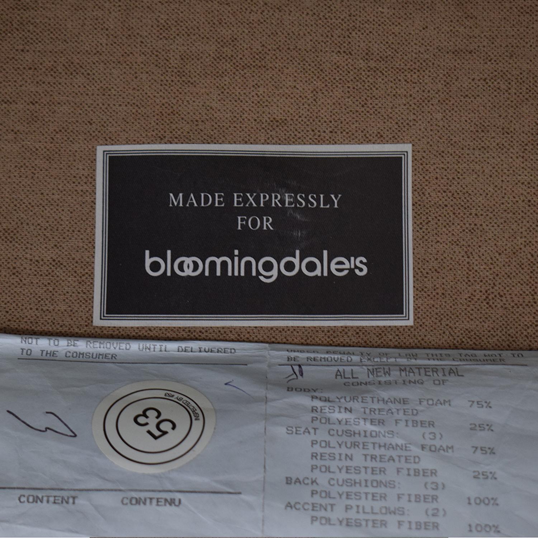 Bloomingdale's Bloomingdale's Three Cushion Sofa nyc