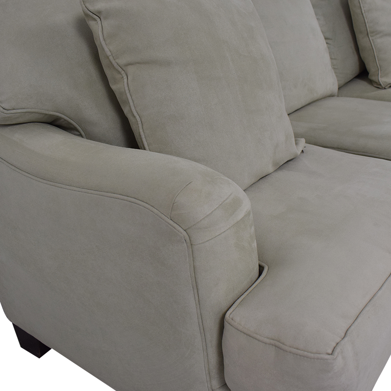 Bloomingdale's Bloomingdale's Three Cushion Sofa dimensions