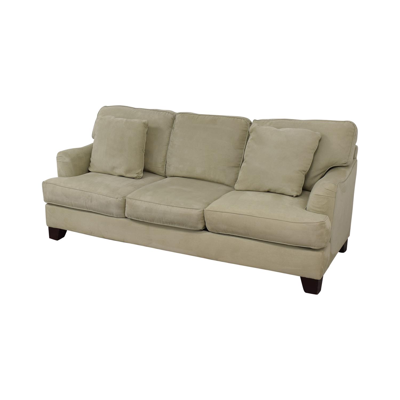 Bloomingdale's Bloomingdale's Three Cushion Sofa discount